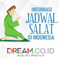 Jadwal Sholat Wilayah Jakarta Bulan April 2020
